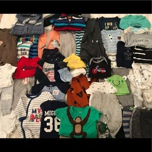 Other - Baby Boys Huge Bundle Newborn Clothes